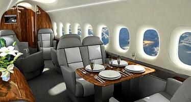 თვითმფრინავი, რომლითაც მსოფლიოს უმდიდრესი ადამიანები დაფრინავენ (ვიდეო)