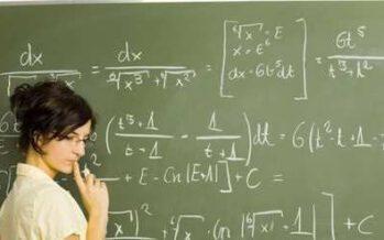 ერთხელ მათემატიკის მასწავლებელი …