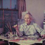 წარსული არ უდრის მომავალს — მოხუცი ქალბატონის ნახატებით გაოცებულები