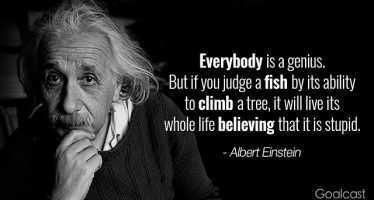 ალბერტ აინშტაინის 15 პოზიტიური გამონათქვამი