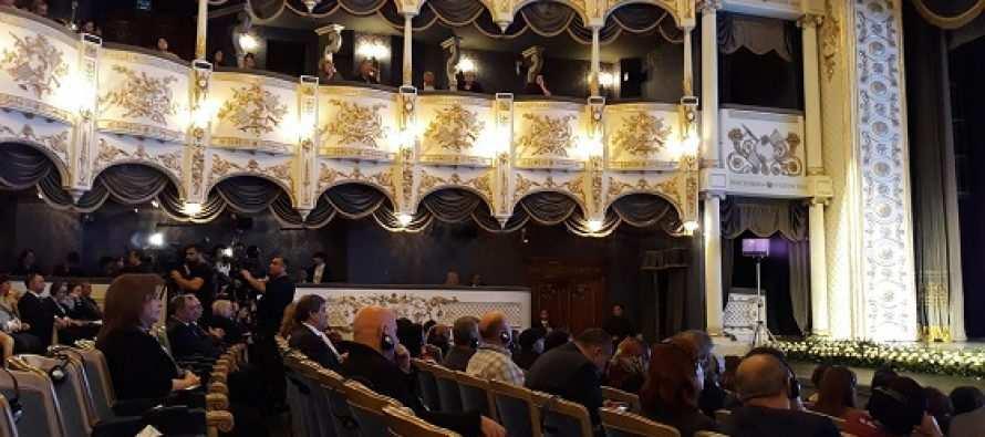 """საერთაშორისო თეატრალური კონფერენცია ქ. ბაქოში—""""მსოფლიო თეატრალური პროცესები XXI საუკუნეში"""""""