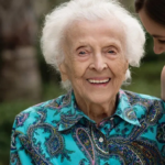 შვილიშვილის სიურპრიზი 103 წლის ბებიას