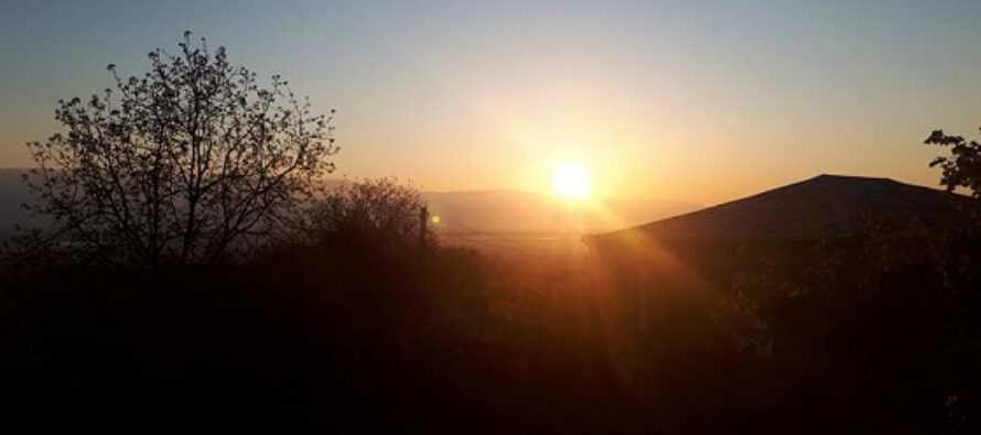 მზე ამოვიდა, გაიღვიძეთ…