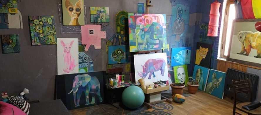 მორაგბე მხატვარი და რაგბის სკოლა